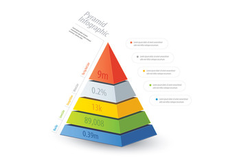 Pyramid Infographic Layout