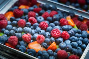 Assortment of fresh ripe berries