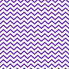 Chevron Seamless Pattern - Graphic purple and white chevron or zig zag pattern
