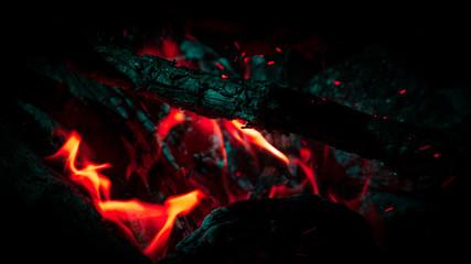 Campfire - Red Orange Green