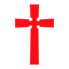 Christian Cross emblem