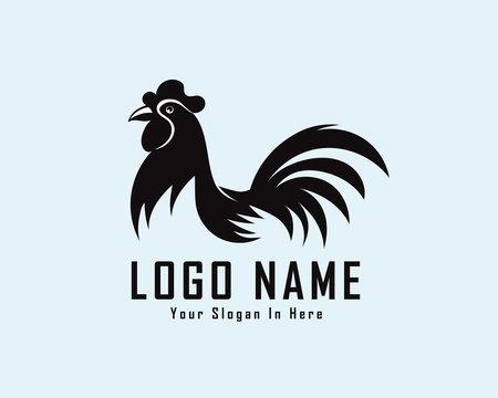 chicken, rooster drawing art logo design inspiration