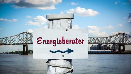 Schild 387 - Energieberater
