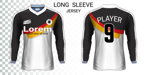 2d131e80c Long sleeve soccer jerseys