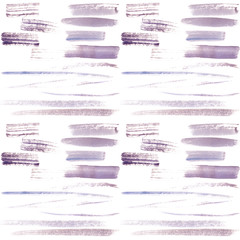 Abstract seamless pattern hand drawn watercolor brush stroke