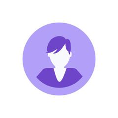 Social Network Male Man Icon Vector Illustration