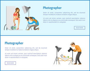Studio and Still Life Photographers Web Banners