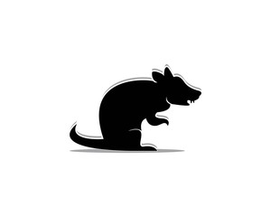 Rat icon vector illustration