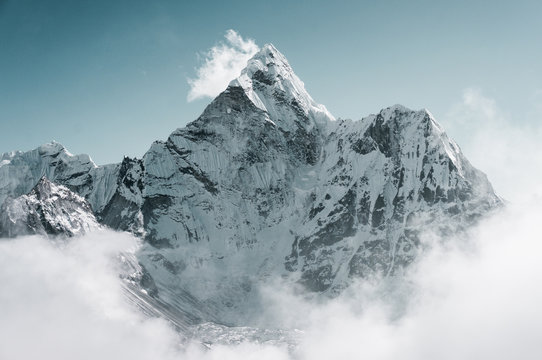 Ama Dablam peak, Sagarmatha, Nepal