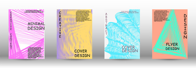 A set of modern covers.
