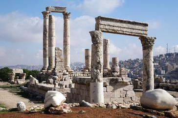 Jordan. The Temple of Hercules