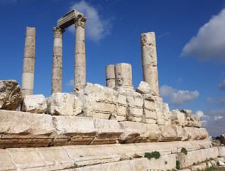 Jordan. Ther Temple of Hercules