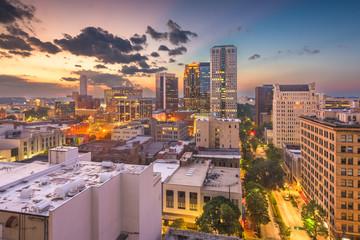 Birmingham, Alabama, USA downtown city skyline