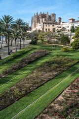 Kathedrale mit Garten, Palma