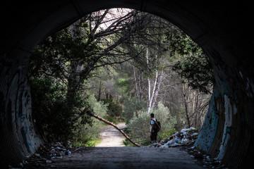 Tunnel ins Grüne