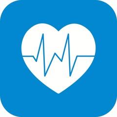 Vector Heart Beat Icon