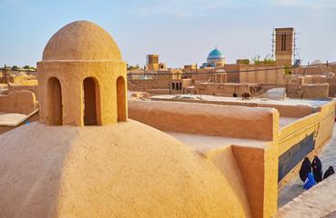 Adobe dome, Yazd, Iran