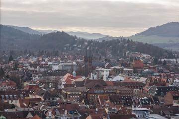 Freiburg im Breisgau germany, cityscape.