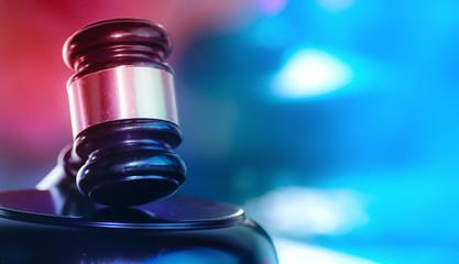 Law and Order Criminal Procedure Concept Image
