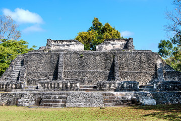 Xunantunich, an Ancient Mayan archaeological site in western Belize