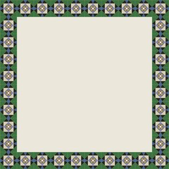 Vectoral illustration of islamic colorful marble patterns presentation board