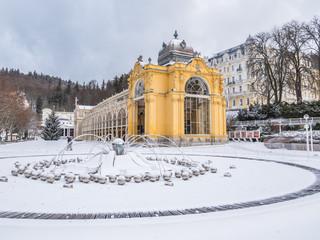 Marienbad Colonnade Czech