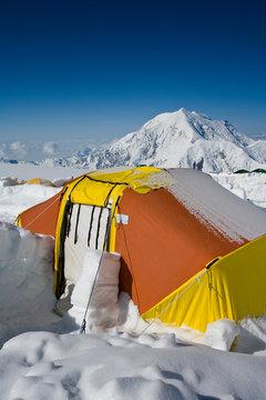 Medical tent, Talkeetna, Alaska