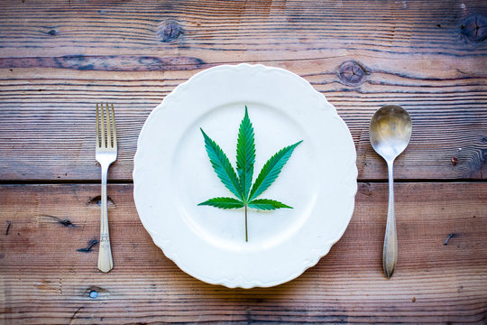 Cannabis pairing dinner party at North Fork 53 near Nehalem, Oregon.