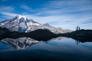 Scenic image of Mt. Rainier National Park, WA.