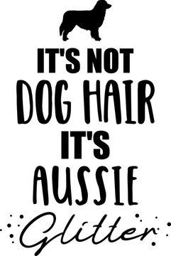 It's not dog hair, it's Aussie glitter