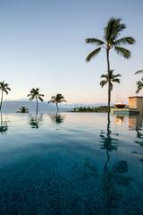 Wailea, Maui, Hawaii: The Four Seasons Resort Serenity Infinity Pool.
