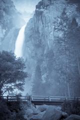 Scenic image of Yosemite Falls in Yosemite National Park, California, USA