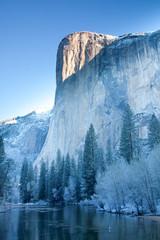 Scenic image of El Capitan, Yosemite National Park, California, USA