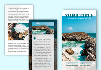 Interactive eBook or Magazine Layout