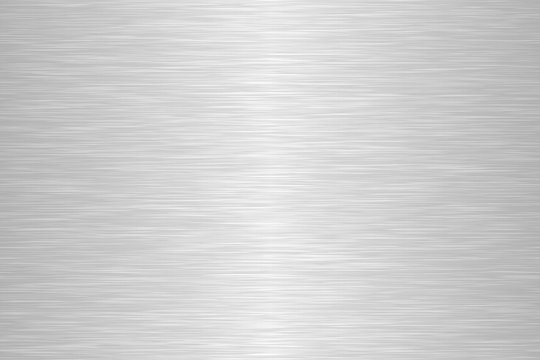 Seamless brushed metal texture. Steel background. Vector illustration.