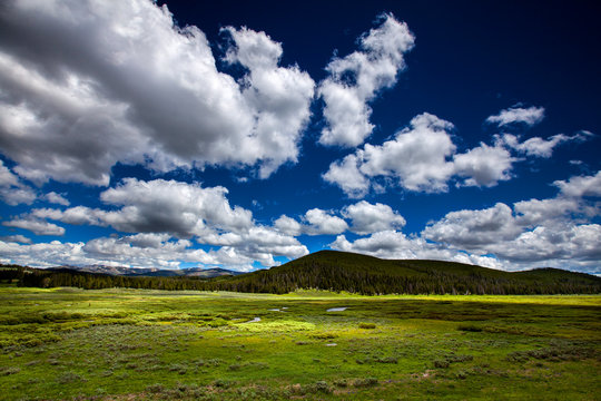 Yellowstone National Park, Wyoming: The western most edge of Yellowstone.