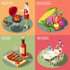 BBQ Grill Design Concept