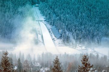Ski jump in Zakopane