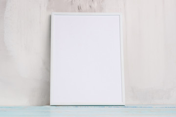 white empty frame for design, layout, advertising. Minimalism