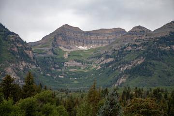 Glacial Cirque, Wasatch Mountains, Utah