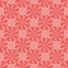 Geometric seamless pattern with rhombuses. Abstract background decoration. Vector illustration for design.