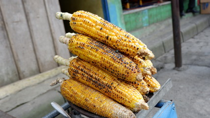sweet roasted corn