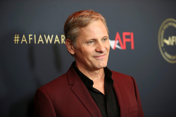 Actor Viggo Mortensen poses at the annual AFI Awards luncheon in Los Angeles