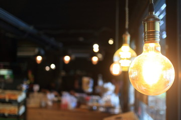 coffee cafe and light