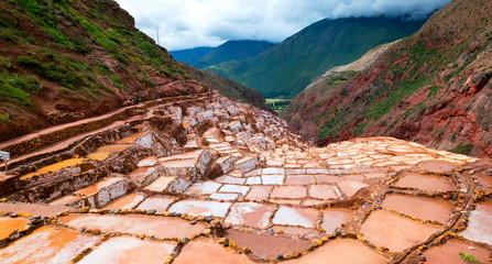 Stock image of the landscape of Peru..