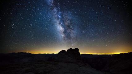 Nature Landscape of Yosemite National Park, California, USA..