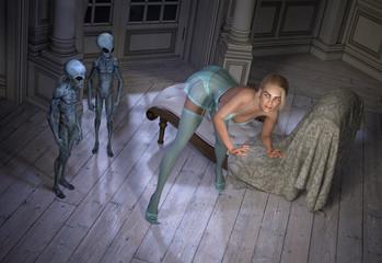 Strange Late Night Alien Visitors