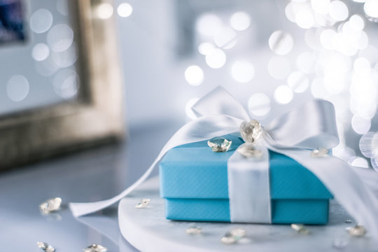 gift for her on valentine's day - holiday presents concept