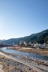 飛騨川 下呂温泉