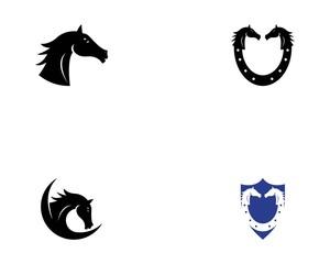 Horse icon vector illustration